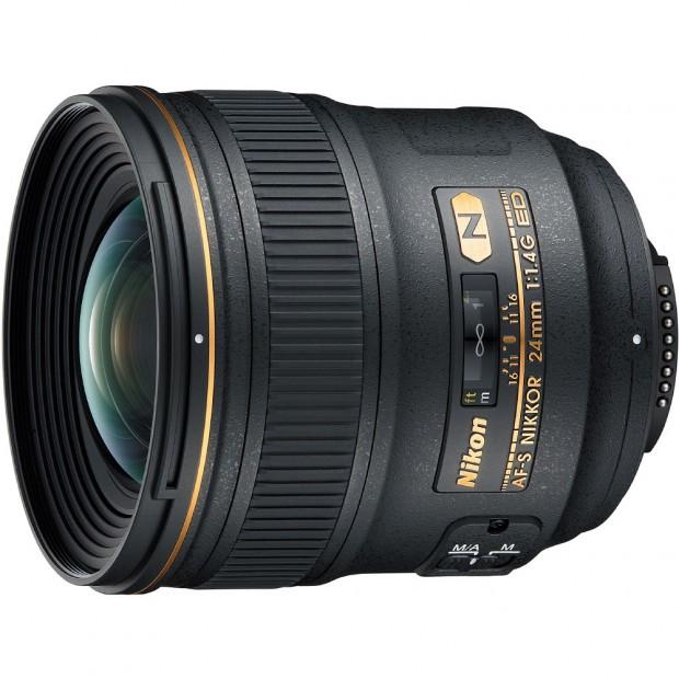 AF-S Nikkor 24mm f 1.4G ED Lens