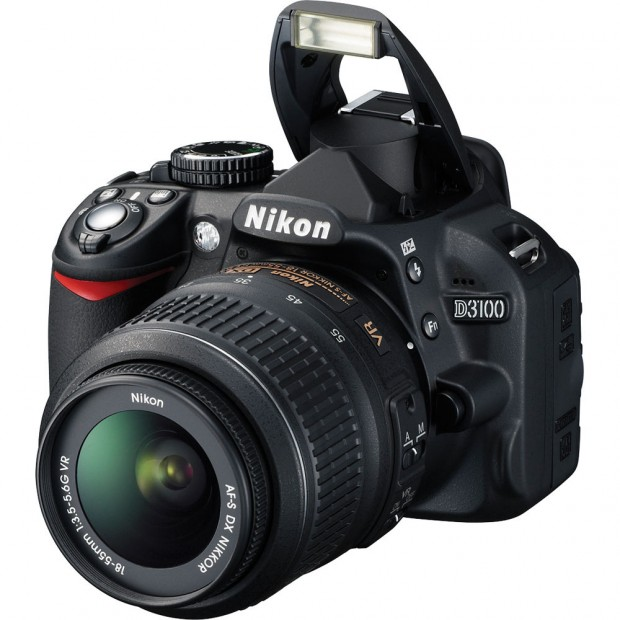 Refurbished Nikon D3100 w/ 18-55mm lens for $299 !