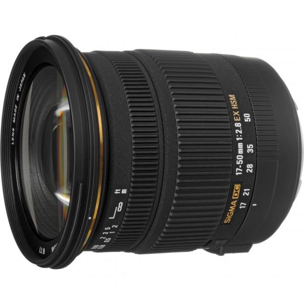 Sigma 17-50mm f 3.8 ex dc os hsm lens