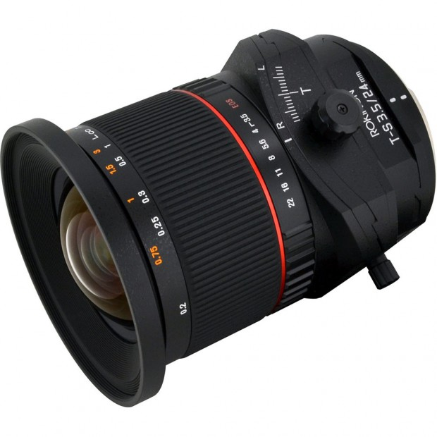 Refurbished Rokinon Tilt-Shift 24mm f/3.5 Lens for $599 !