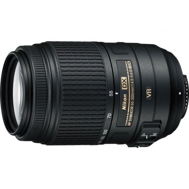 AF-S Nikkor 55-300mm f 4.5 5.6g ed vr lens