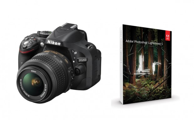 <del>Hot Deal – Refurbished Nikon D5200 w/ 18-55mm Lens w/ LR5 for $429 !</del>