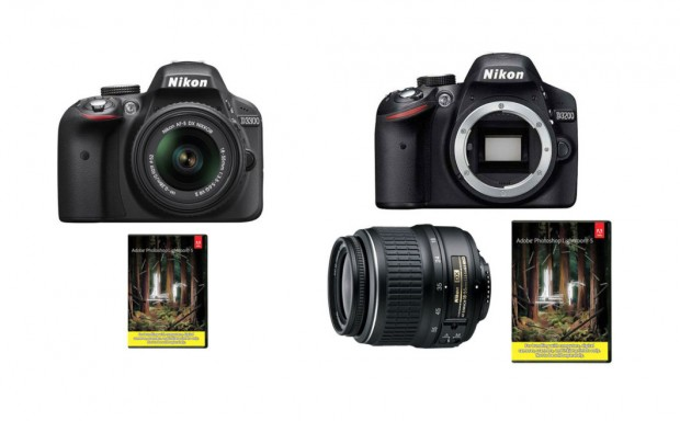 <span style='color:#d1d1d1;'><del>Refurbished Nikon D3300 w/ 18-55 + LR5 &#8211; $379, D3200 w/ 18-55 + LR5 &#8211; $299 !</del></span>