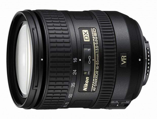 AF-S DX NIKKOR 16-85mm f/3.5-5.6G ED VR Lens for $499 at Amazon