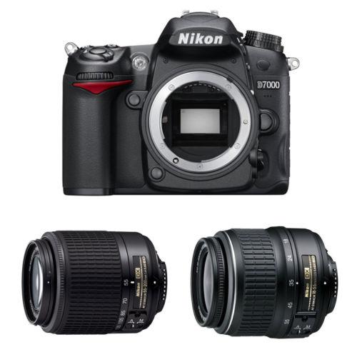 Hot Deal Back – Refurbished Nikon D7000 w/ 18-55, 55-200 Lenses for $499 !
