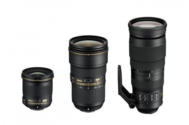 Pre-order: AF-S NIKKOR 24-70mm f/2.8E ED VR, 200-500mm f/5.6E ED VR, 24mm f/1.8G ED Lenses