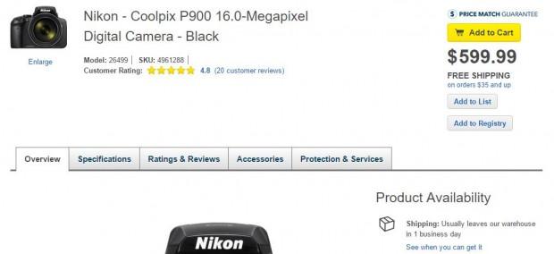 p900 in stock