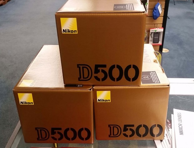 Nikon D500 now Shipping in US !