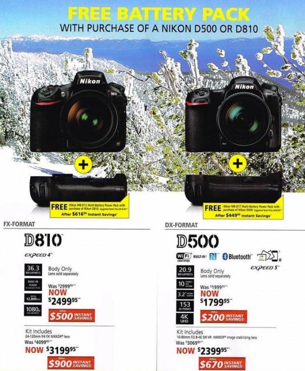 Nikon-2016-Black-Friday-d810 d500