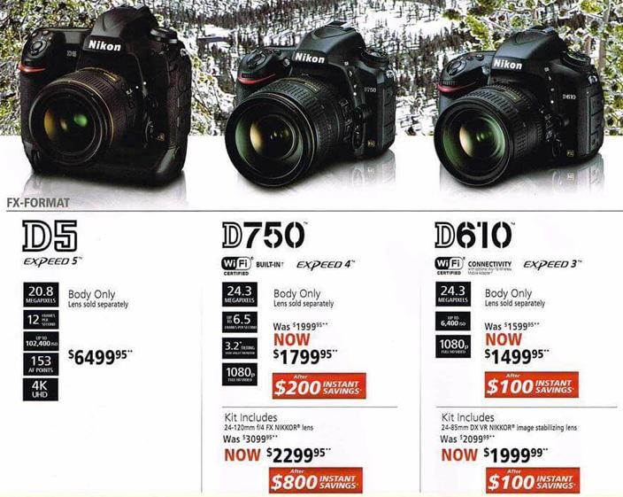 Nikon camera deals black friday 2018