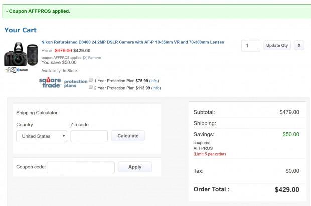 Nikon p510 coupon code