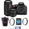 nikon d5500 2 lens bundles