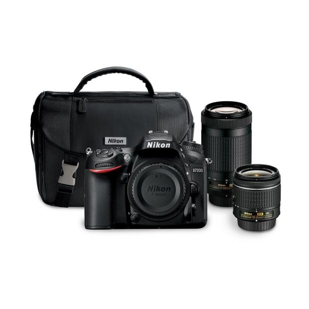 Hot Deal – Nikon D7200 w/ 18-55mm & 70-300mm Lens Bundle for $1,197 !