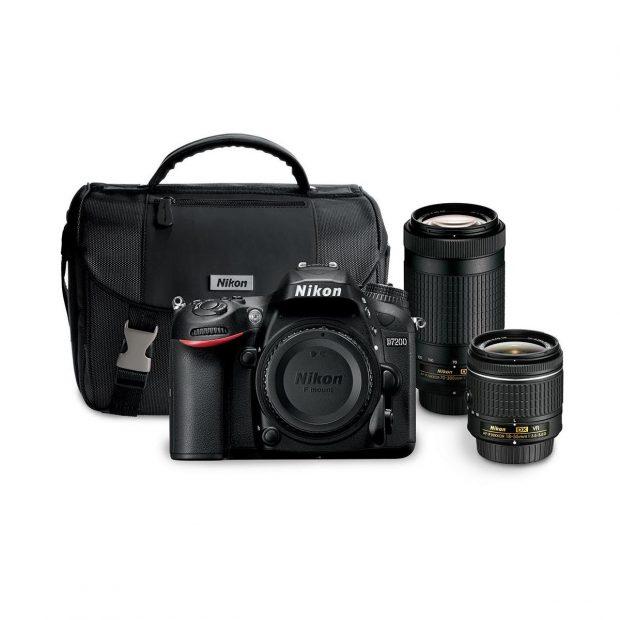 Hot Deal – Nikon D7200 w/ 18-55mm & 70-300mm Lens Bundle for $1,197 !