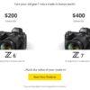 Nikon Mirrorless Deals   Nikon Deal